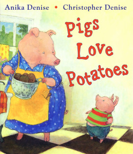 Pigs Love Potatoes Copyright 2007 Christopher Denise 350dpi
