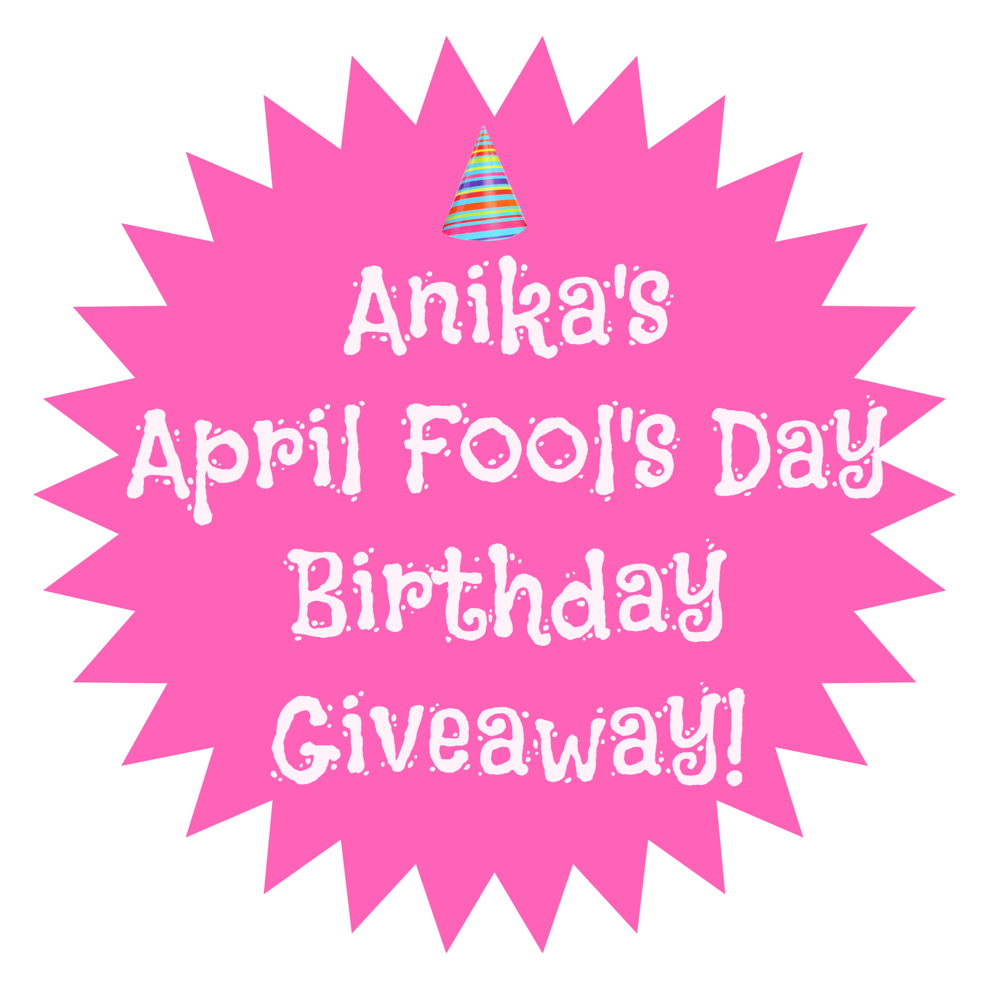 thanks to all who took a guess at the fool fact in my april fools day birthday giveaway this was so much fun